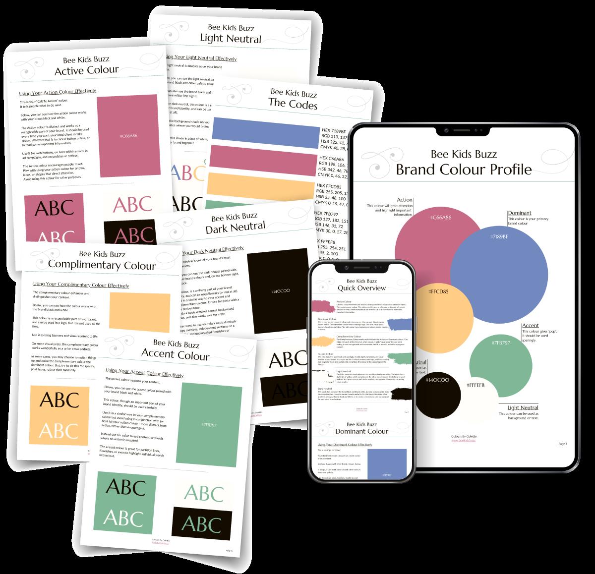 Brand Colour Profile Kit